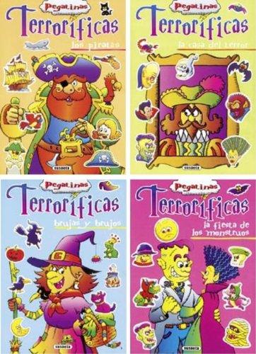 9788430564736: Pegatinas terroríficas (Pack de 4 libros) (Pegatinas Terroríficas (4 Tít.))
