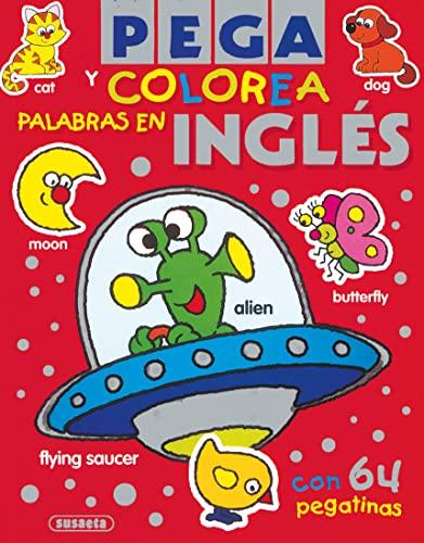 9788430565641: Pega y Colorea Palabras En Inglés (Súper Pega Y Colorea)