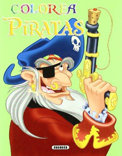 Colorea Piratas. (A partir de 3 años).