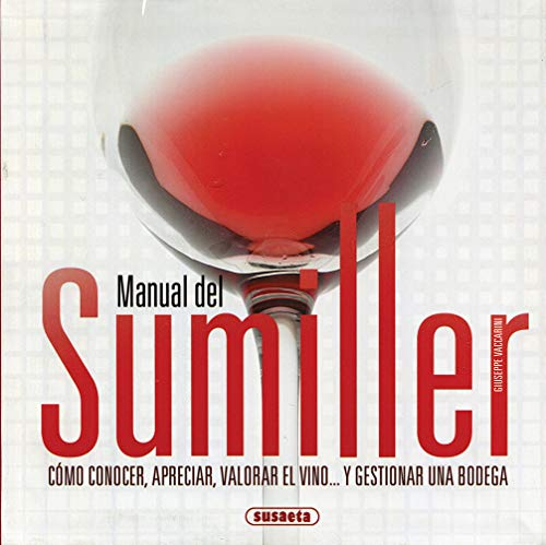9788430568819: Manual del sumiller / Sommelier Manual (Spanish Edition)