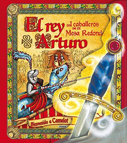9788430569915: El rey Arturo y los caballeros de la mesa redonda (Despliega la historia)