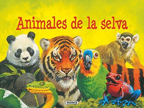 9788430572595: ANIMALES DE LA SELVA (ANIMALES DESPLEGABLES)