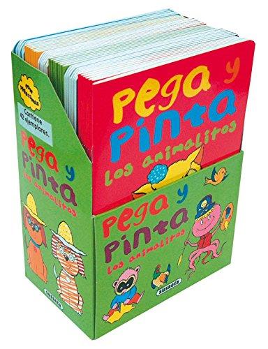 9788430572861: Pega y pinta los animalitos (Pack de 6 libros) (Pega Y Pinta Animalitos)