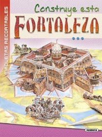 9788430573967: Construye esta fortaleza (Maquetas Recortables)