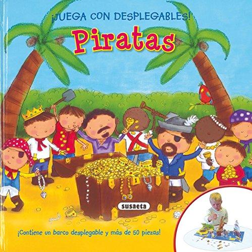 9788430574544: Piratas (¡Juega con desplegables!)