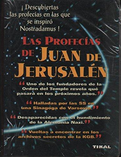 9788430580569: Profecias Juan De Jerusalen