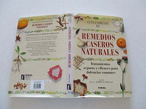 9788430585045: Remedios Caseros Y Naturales. Guia Familiar