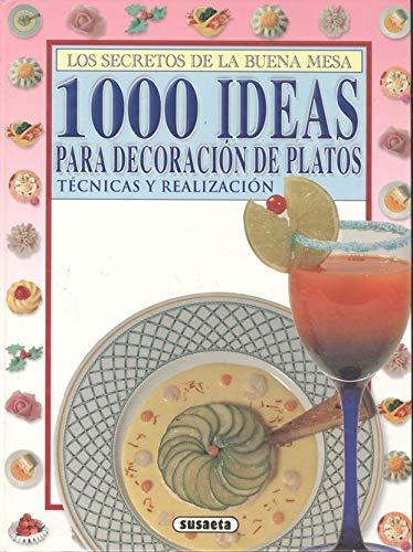 9788430591923: 1000 ideas para decoracion de platos