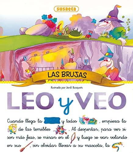 9788430594061: Leo Y Veo Las Brujas/ I Read and See the Witches (Spanish Edition)