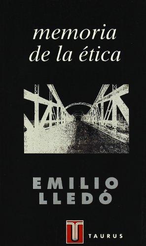 9788430600946: Memoria de la ética (PENSAMIENTO)