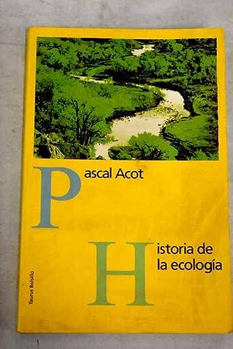 9788430601165: Historia de la ecologia