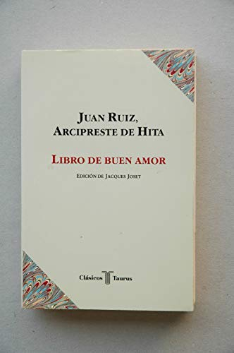 9788430601172: Libro de buen amor (Clásicos Taurus) (Spanish Edition)