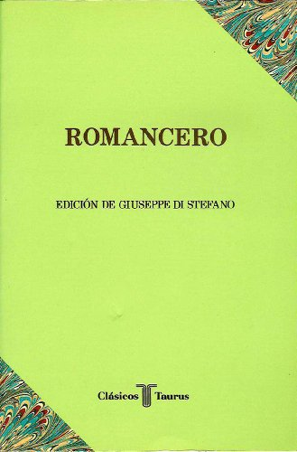 9788430601240: Romancero (Clasicos Taurus) (Clásicos Taurus) (Spanish Edition)