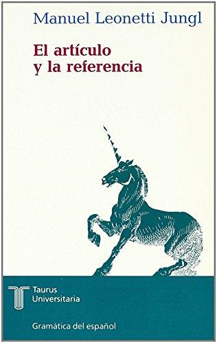 El artículo y la referencia: LEONETTI JUNGL, Manuel