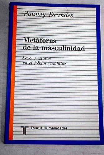 Metaforas de la masculinidad : sexo y