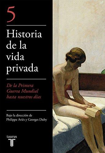 9788430604050: Historia de La Vida Privada V - Bolsillo (Spanish Edition)