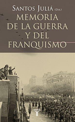9788430606221: Memoria de la guerra y el franquismo (PENSAMIENTO)