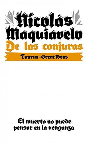 9788430609291: De las conjuras (Serie Great Ideas 10)