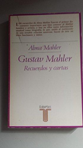 9788430611577: Gustav mahler : recuerdos y cartas