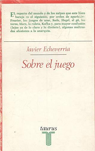 9788430611751: Sobre el juego (Ensayistas) (Spanish Edition)