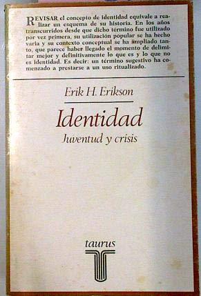 9788430611836: Identidad:juventud y crisis