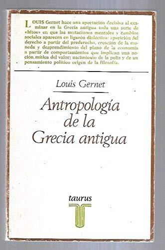 9788430611959: Antropologia de la Grecia antigua