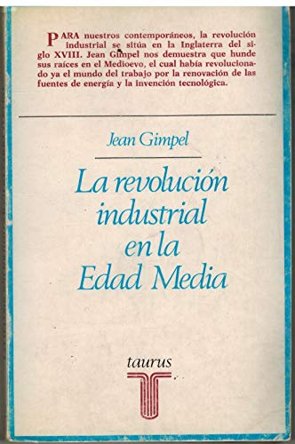 9788430612031: La revolución industrial en la Edad Media