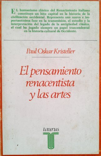 9788430612611: El Pensamiento Renacentista Y Las Artes (Coleccion de ensayos, 261)