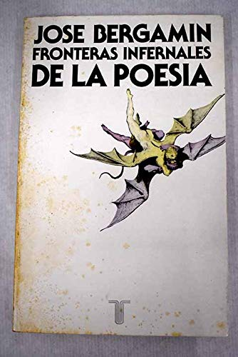 9788430620104: Fronteras infernales de la poesía (Persiles) (Spanish Edition)
