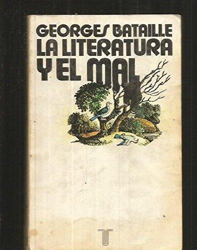 9788430620425: La literatura y el mal