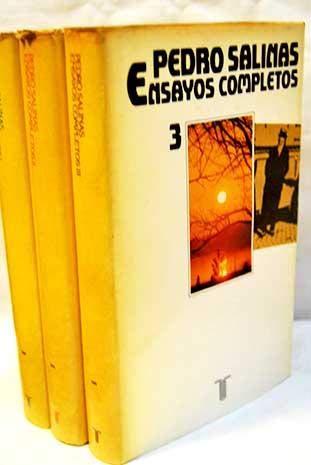 Ensayos completos (Persiles) (Spanish Edition): Salinas, Pedro