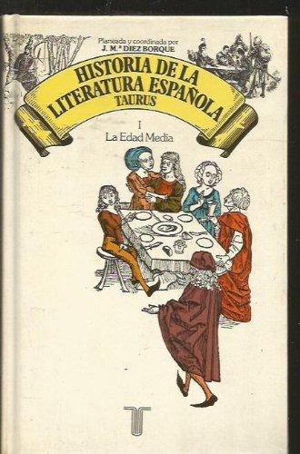 9788430629923: Historia de la literatura española. t.1. la edad media