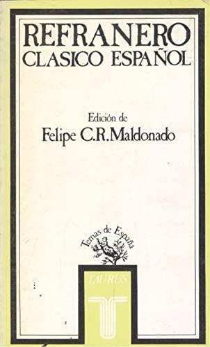 9788430640126: Refranero clásico español y otros dichos populares (Temas de España)