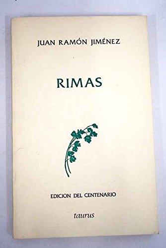 9788430649518: Jiménez : rimas (Edición del centenario)
