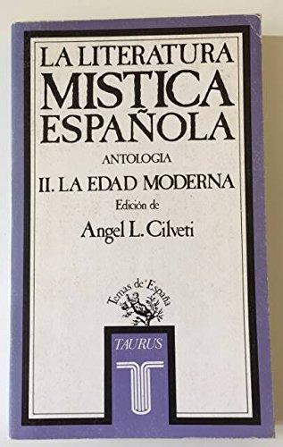 9788430699612: Literatura mistica espanola: Antologia (Seccion