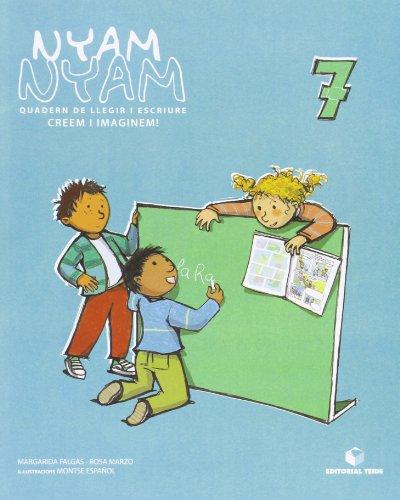 Nyam-nyam, Creem i imaginem!, Educació Infantil. Quadern: Rosa . [et