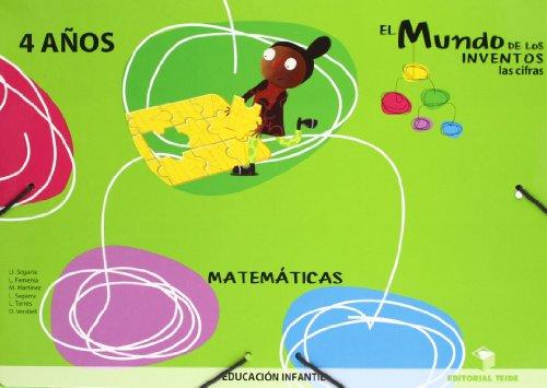 El mundo de las cifras 4 a¾os: Segarra homar, lia;Segarra