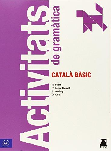 9788430734191: Activitats de gramàtica. Català bàsic