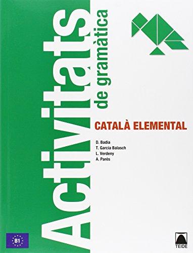 9788430734306: Activitats gramàtica. Català elemental