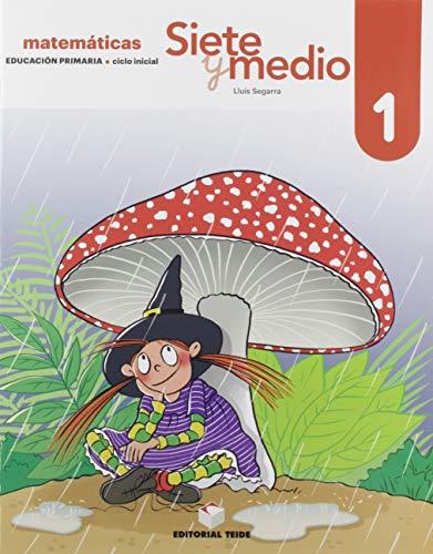 9788430740307: Siete y medio. Cuaderno 01 (Ed. 2019)