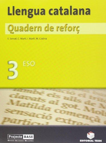 9788430748112: Quadern de reforç. Llengua catalana 3r ESO - 9788430748112