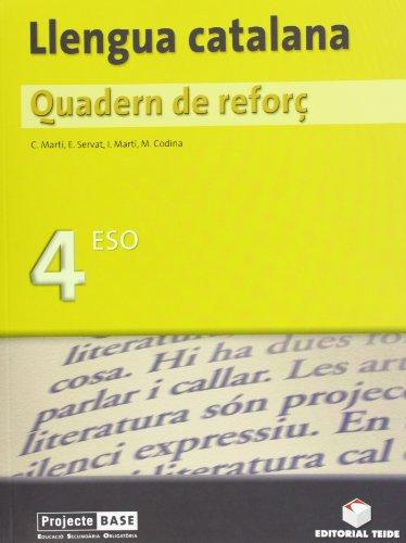 9788430749188: Quadern de reforç. Llengua catalana 4t ESO - 9788430749188