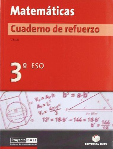 9788430749393: Matemáticas. Cuaderno de refuerzo 3º BASE - 9788430749393