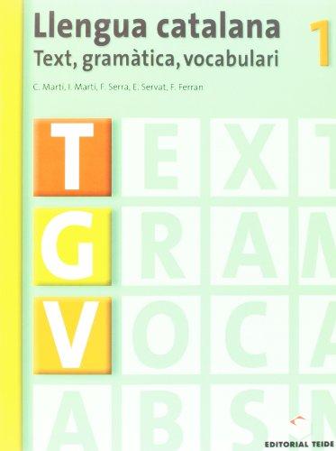 9788430749416: Llengua Catalana. Tgv 1 - 9788430749416