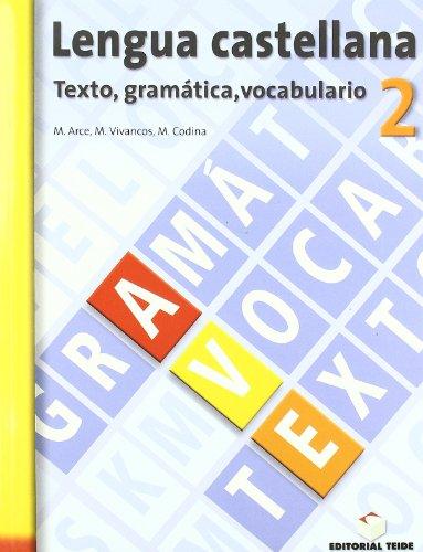 9788430749447: Lengua castellana, texto, gramAÂ¡tica, vocabulario, 2 ESO. Cuaderno y solucionario