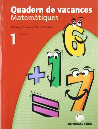 9788430749669: Matemàtiques. Quadern de vacances 1er ESO - 9788430749669