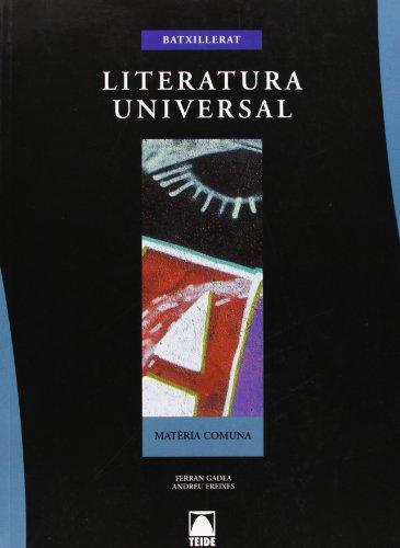 9788430750894: Literatura Universal Btx - 9788430750894