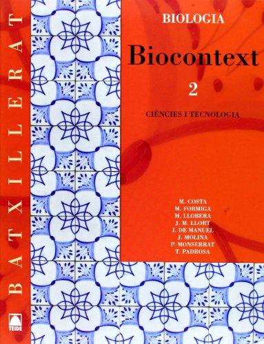 9788430752881: Biocontext 2 + Problemes. Biologia.Batxillerat