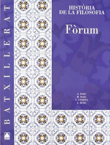 9788430752898: Forum, filosofia i ciutadania 2º Batxillerat