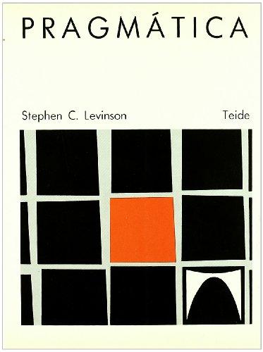 PRAGMATICA: STEPHEN C LEVINSON